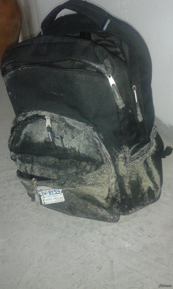 Переехала блин... налегке Этот рюкзак- наиболее яркий представитель моей личной грибницы.  В комментариях история.