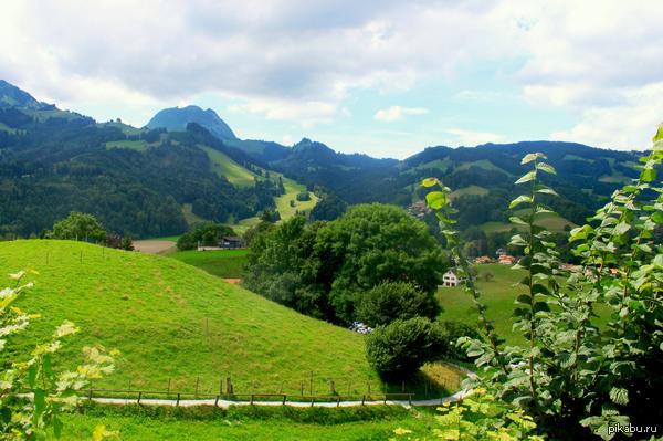 Пятничное моё. Красота природы в Швейцарии