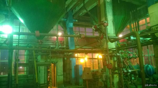 А это моё рабочее место. Ректификация Сырого Бензола на Промывке Я Аппаратчик Перегонки на промывке 5 разряда