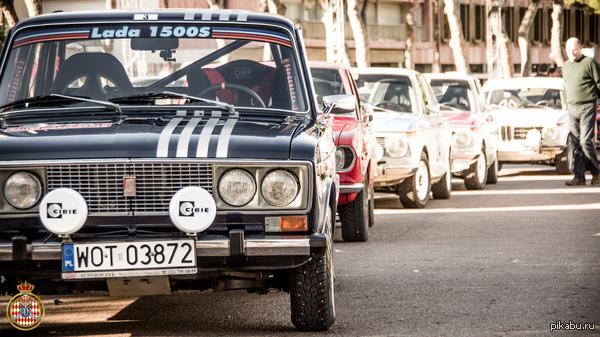 ВАЗ 2106 на Rallye Monte-Carlo Historique 2014 45 место из 257 участников