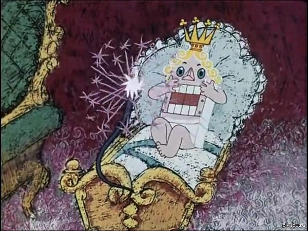 Один из ужастиков детства - Щелкунчик Пересматривал тут Щелкунчика, вспомнил этот ужасный эпизод превращения особенно под шикарную музыку