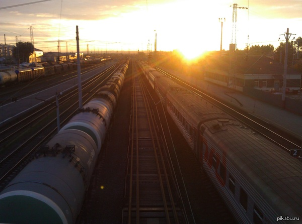 Утро на вокзале Сызрань-1