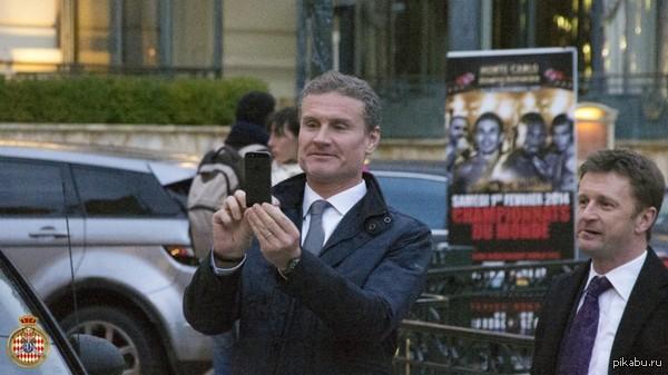 David Coulthard Вот кого удалось увидеть в январе  Живёт в Монако.Ему принадлежат несколько отелей в Великобритании и Монако, включая известный отель Columbus