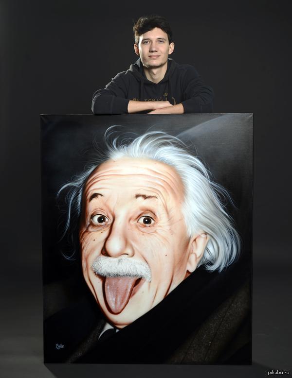 Моя новая работа Рисовал по черно-белой фотографии. 100х120 см.