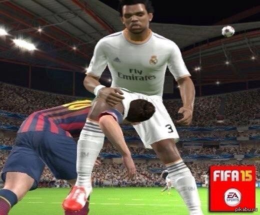 FIFA 15 Что творит Леонель Месси)