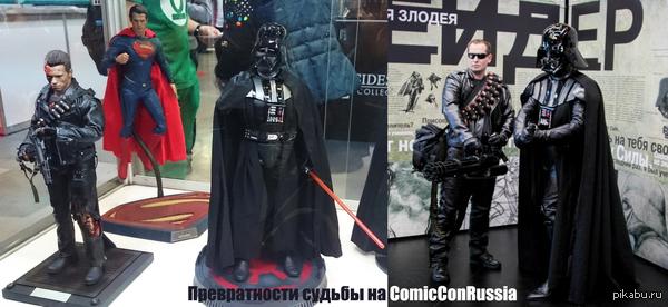 В качестве отчета c ComicConRussia. Привет тем, кто передавал мне привет)