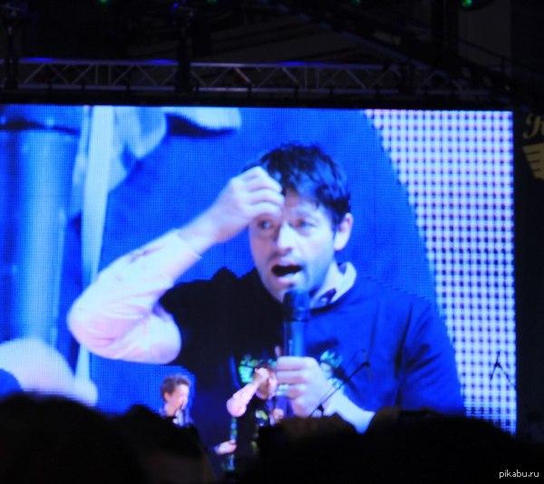 Реакция Мишы на фанатов в Москве.