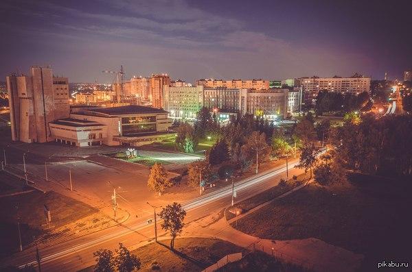 Чебоксары Родной город. Тихий и спокойный. Фото с нашего знаменитого Сувара :)