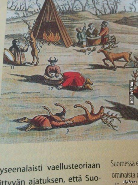 Финская картина 1680 года. WHF  он делает?