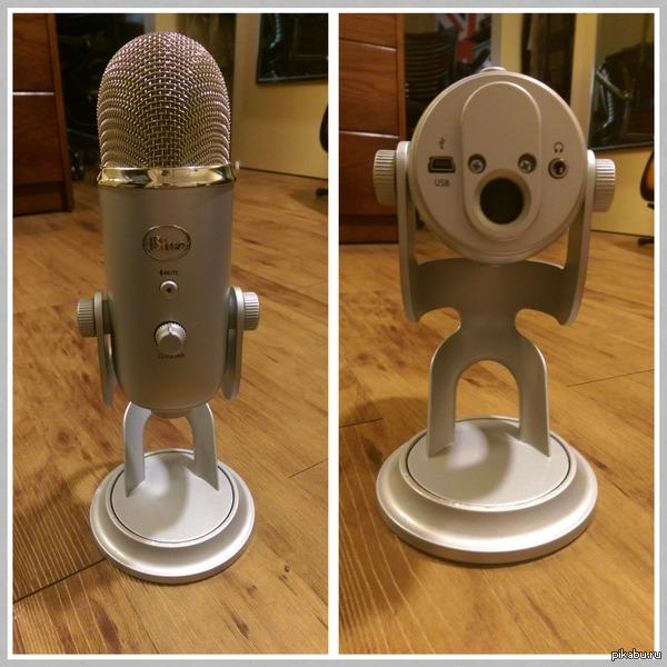 Опять упоролся? Кажется этому микрофону не нравится как в него поют.
