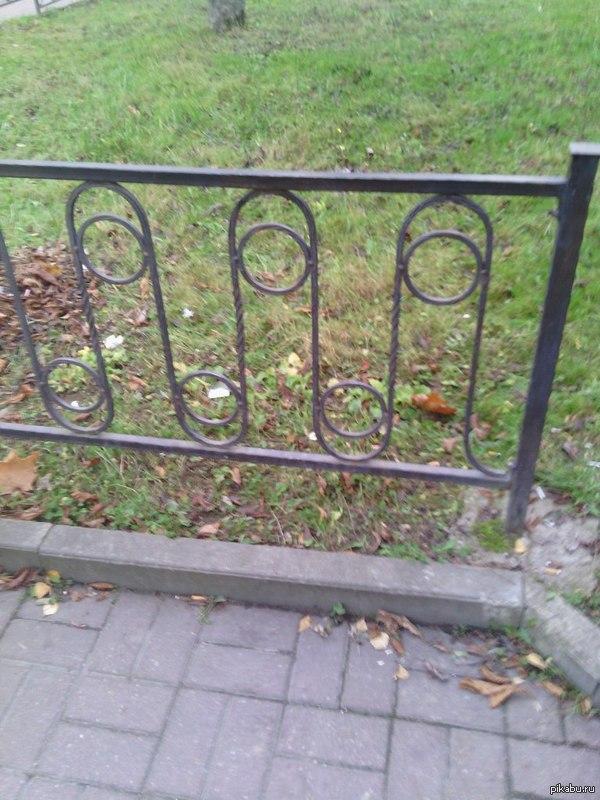 Х***й забор Вот такой заборчик возле моего офиса)