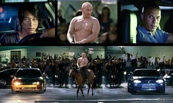 Немного Путина,немного фотошопа.