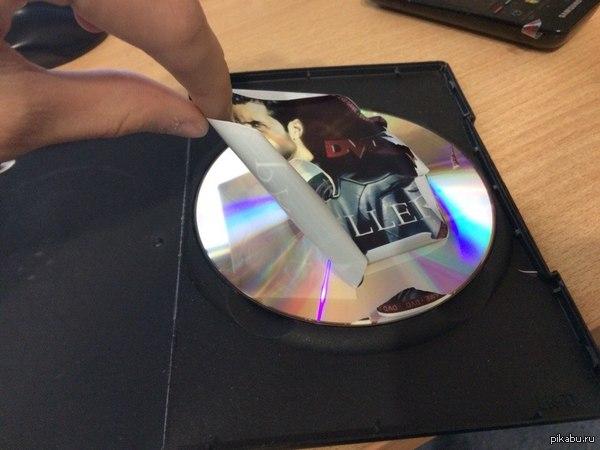 Вот что значит пират) Пересматривал старый хлам, вот что обнаружил, диск работает XD