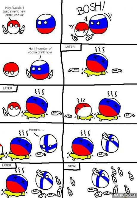 А говорят что русские - самая пьющая нация )