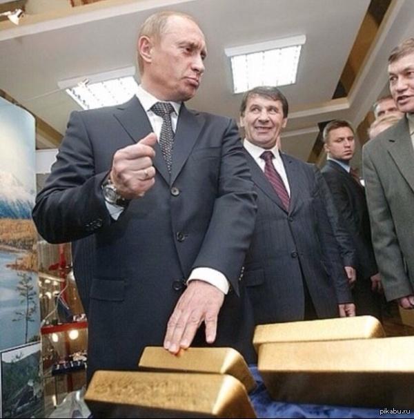 Россия скупает золото. Не только из-за санкций («Nikkei», Япония)