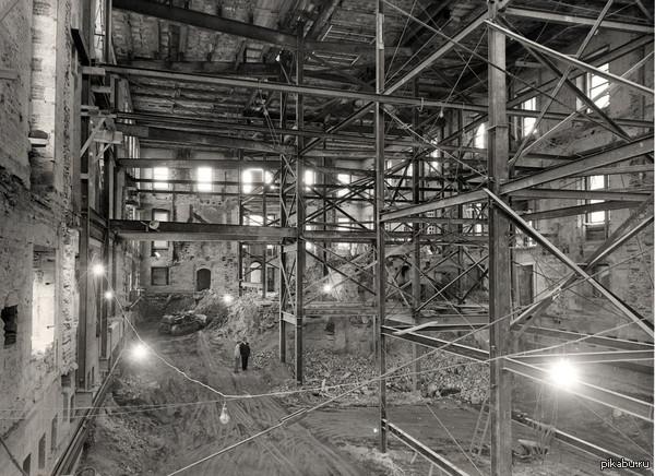 Реконструкция Белого дома. 1950 год
