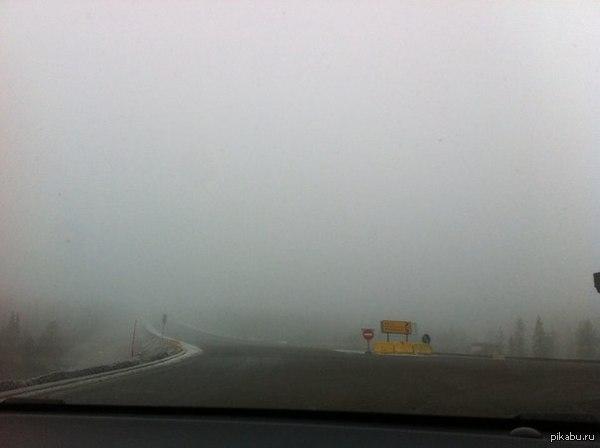 Мурманск - Silent Hill Место: Р-11 шоссе, Кольский район.   Опубликовала в ВК http://vk.com/elliot_c
