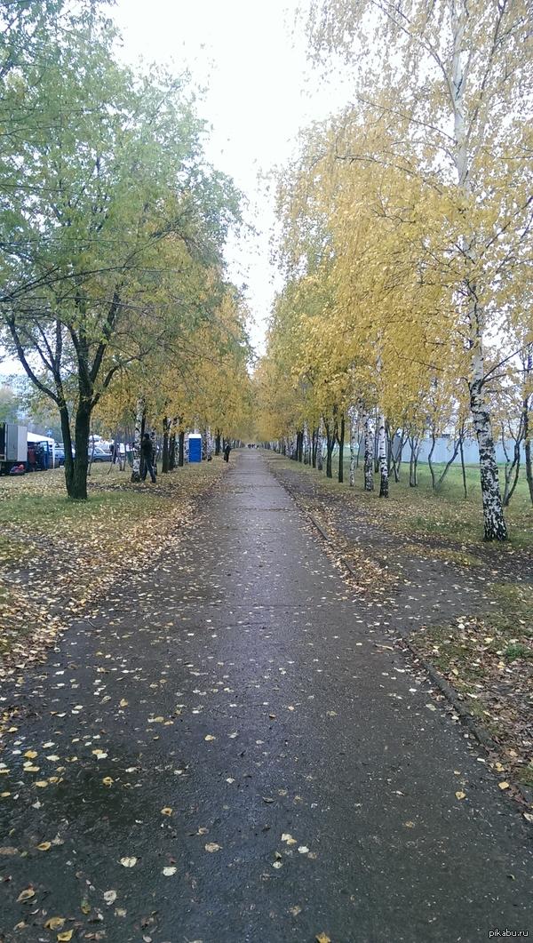 А вот осень в Набережнх Челнах