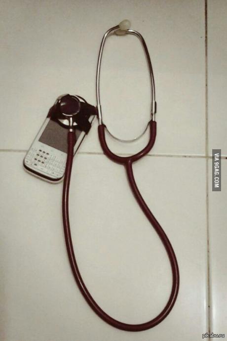 """""""Учусь на врача, недавно сломались наушники"""""""