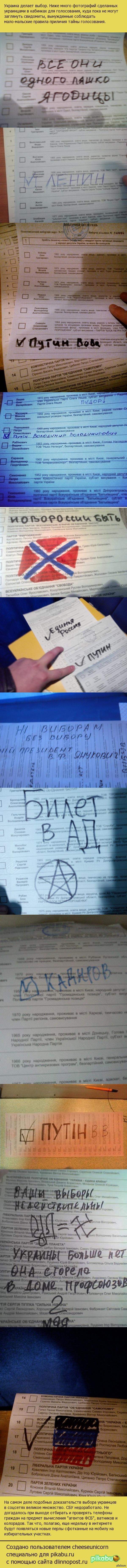 Как голосовала Украина