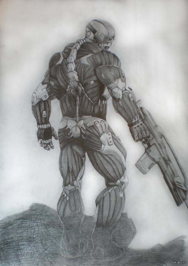 Мой старый рисунок Ватман, разные карандаши не помню какие))