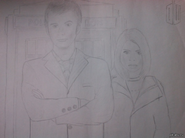 Десятый Доктор и Роза Признаюсь чесно, немного перевела с экрана, дабы сохранить пропорции