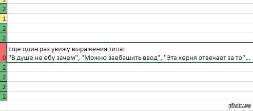 Замечание преподавателя Всегда проверяйте комментарии чужого кода
