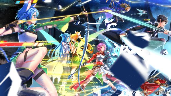 Anime Art №107 Типичное Рейд Пати.