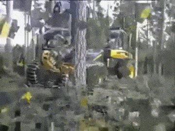 Резка дерева