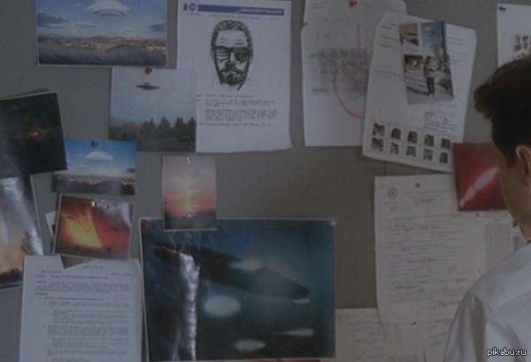 """Малдер расследовал дело Уолтера еще в 1993! Пересматривал """"Секретные материалы"""", а тут заметил что-то знакомое"""