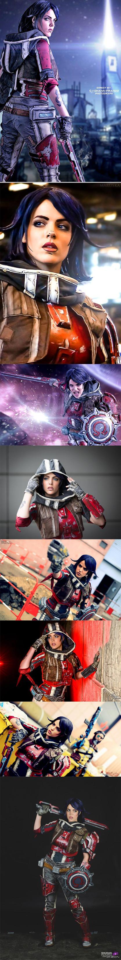 Athena the Gladiator cosplay ( Borderlands Pre- sequel) Полная подборка косплея Афины от Lili Dîn ( Франция).  В этом образе ее можно увидеть на Paris Comics Expo 2014