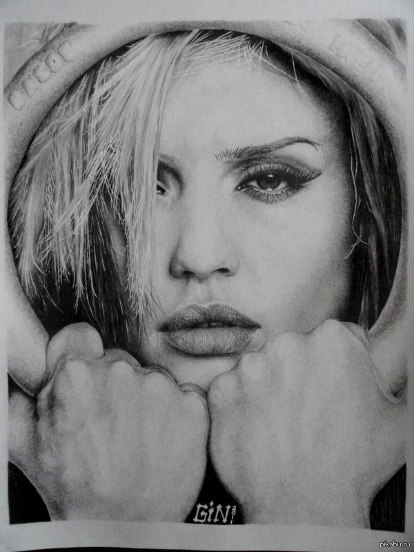 Рисунок карандашом (Альба) Формат А3