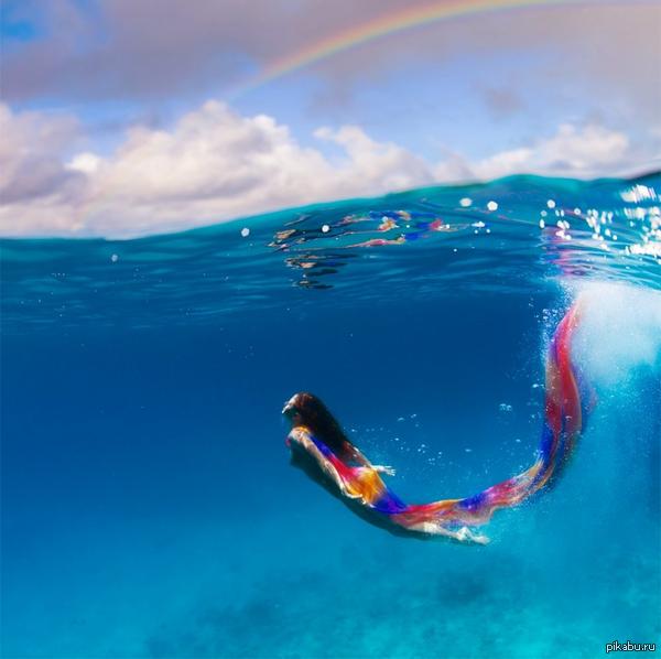 Русалочка) Rainbow. Автор Виталий Сокол.