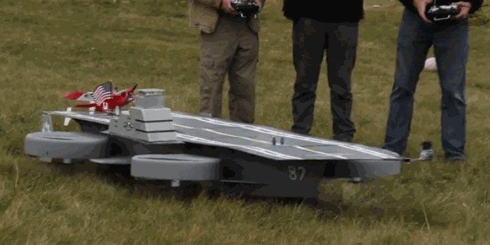 Dronecraft Carrier Летающий авианосец)