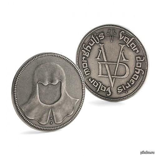 Котяшка Замечал кто нибудь, что на монете Браавоса котяшка в капюшоне?)