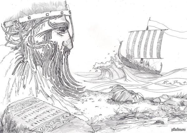 Руны и ког под впечатлением от самой красивой игры на свете - Banner Saga