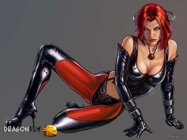 Секси bloodrayne
