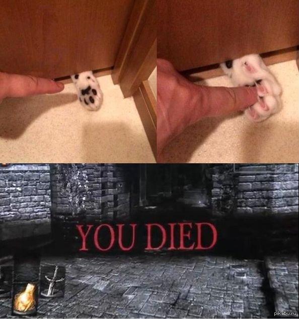 Играя в Dark Souls, не забывай, что любая шалость может закончиться плохо!