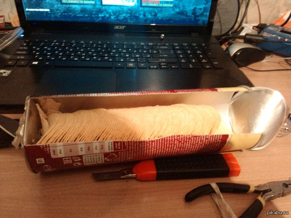 Никогда не понимал чужих проблем с упаковками Pringles.