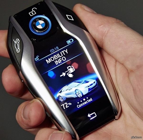 Ключ от BMW i8 Я уже только из за ключа ее хочу!