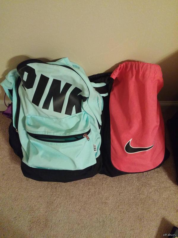 """""""Подруга попросила принести ее розовый рюкзак. Я растерялся, когда увидел их"""""""