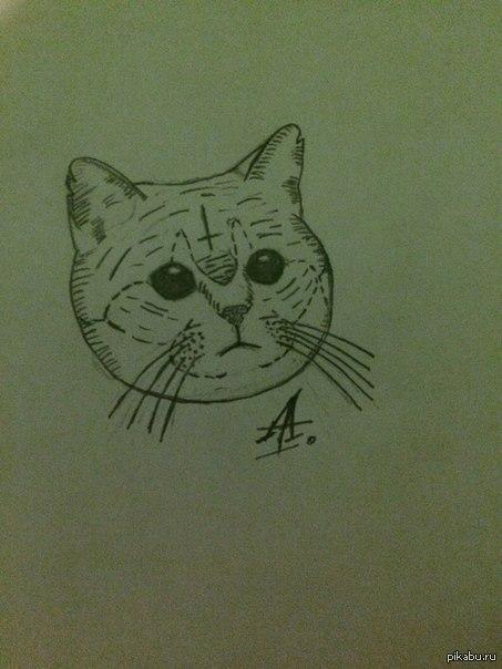 По тихой грусти учусь рисовать