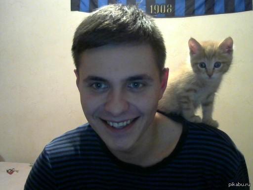Я знаю, что вы любите котиков Фрост и парень слева