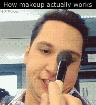Преображение Как на самом деле работает макияж