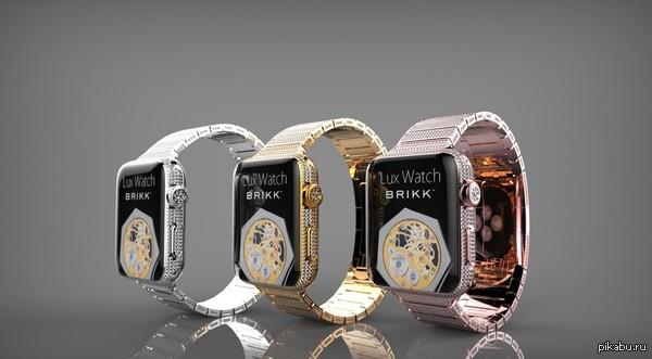 Apple Watch в золоте, платине и бриллиантах будут стоить 115 тысяч долларов #надобрать Парам-пам-пам