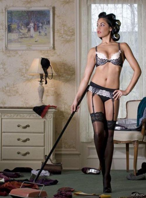 Сексуальная дом работница трахается