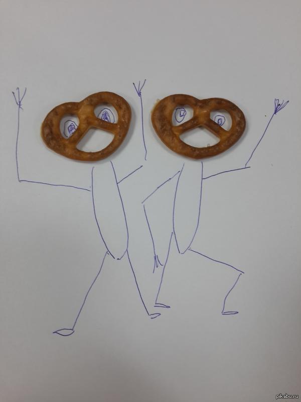Упоротые баварские печенюхи Они радуются, а я их ем