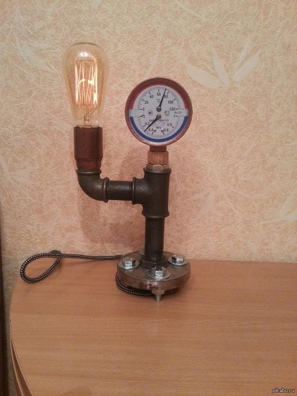 """Настольная лампа стало скучно и грустно, решил поделиться, пятничное """"моё"""""""