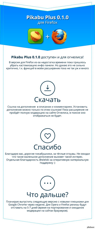 Pikabu Plus 0.1.0 для Firefox https://addons.mozilla.org/ru/firefox/addon/pikabu-1/