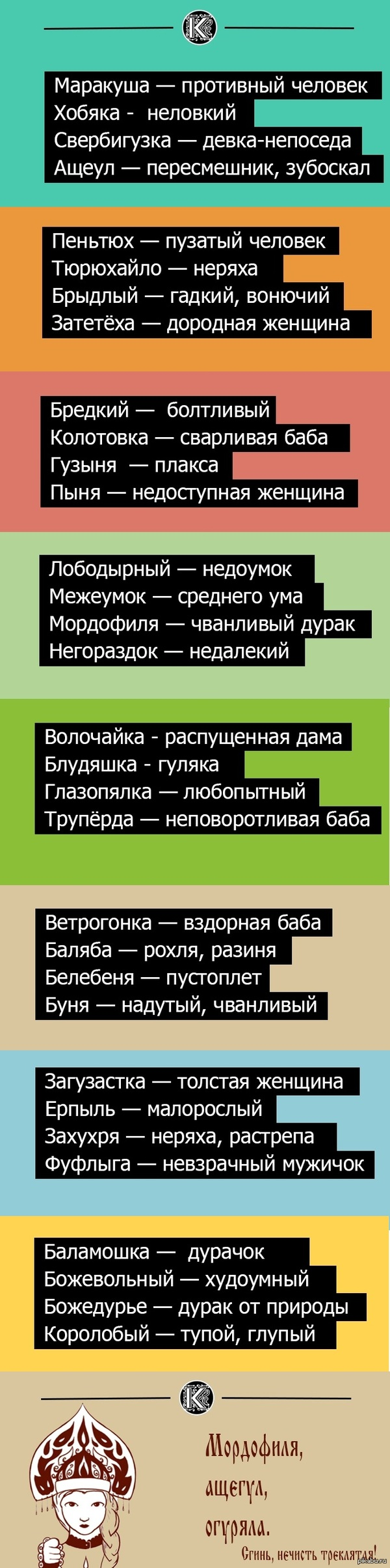 Русское, слово пизда фото